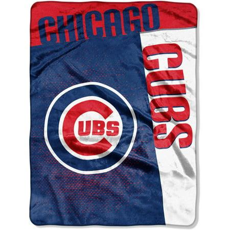 "MLB Chicago Cubs ""Strike"" 60"" x 80"" Raschel Throw by"