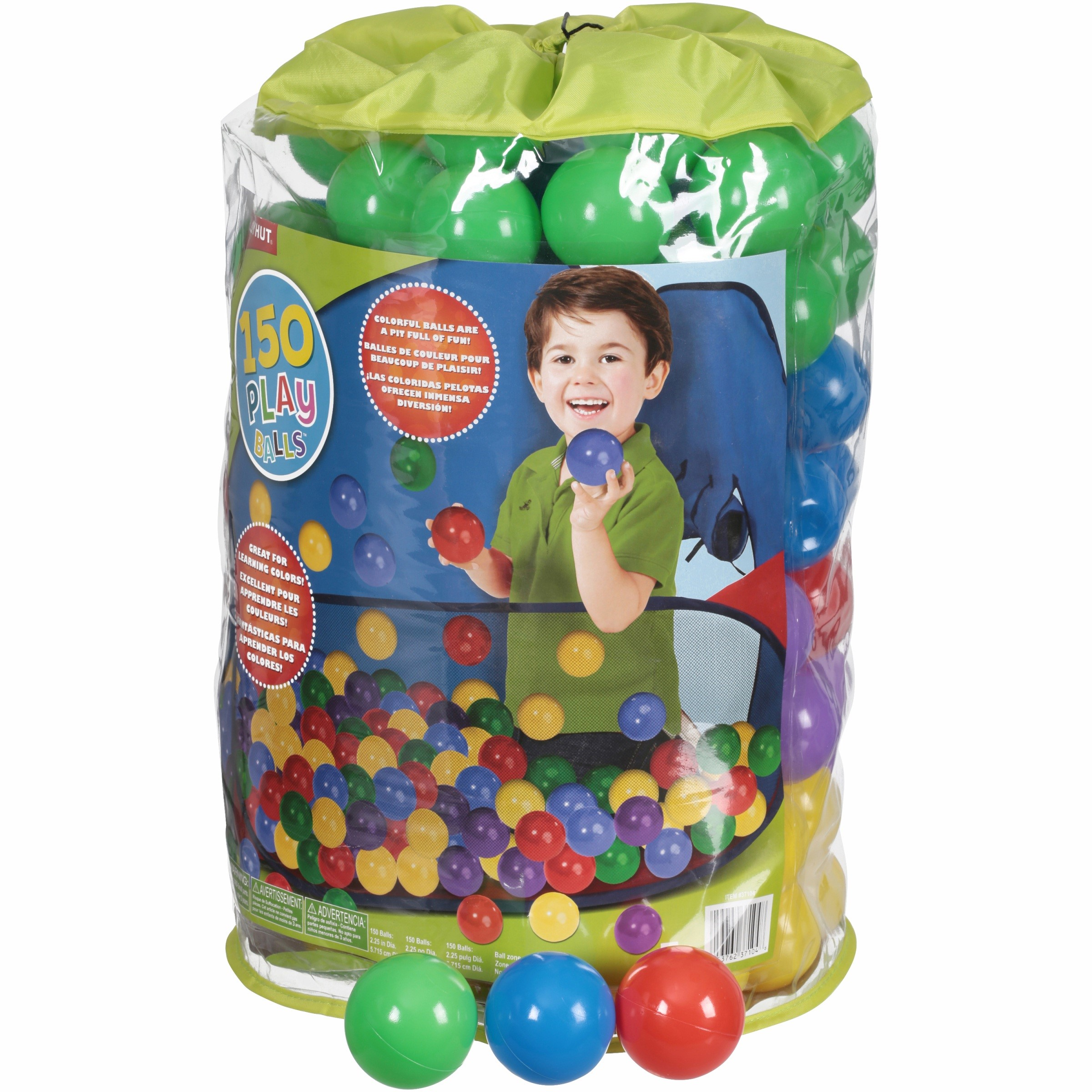 Play Hut 150 COunt Ball Pack