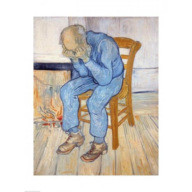 Old Man in Sorrow Poster Print by Vincent Van Gogh - 18 x 24 in. - image 1 de 1
