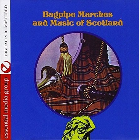 Bagpipe Marches and Music Of Scotland (CD)
