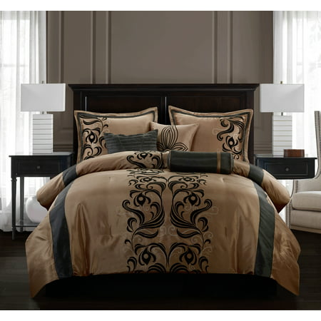 Helda 7-Piece Bedding Comforter Set, California King ()