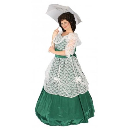 Alexander Costume 18-042-GR Scarlett Costume, Green - Medium](Scarlett Ohara Costumes)
