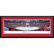 Blakeway Worldwide Panoramas Blakeway Panoramas Washington Capitals Center Ice Multicolored Framed NHL Print