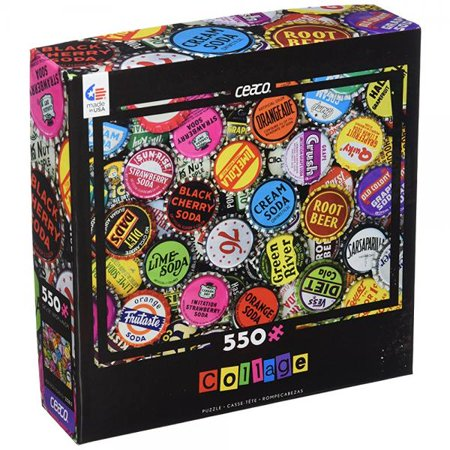 Ceaco Bottle Caps Logo Collage Puzzle (550 Piece)](Halloween Logic Puzzle)