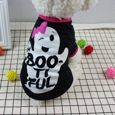 Cool Halloween Cute Pet T Shirts Clothing Small Puppy Costume](Halloween T Shirts For Dogs)