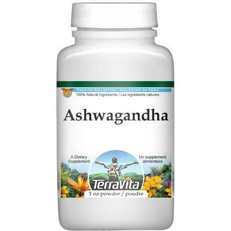 Ashwagandha (ginseng indien) - Withania somnifera Root - Poudre (1 oz, ZIN: 513645)