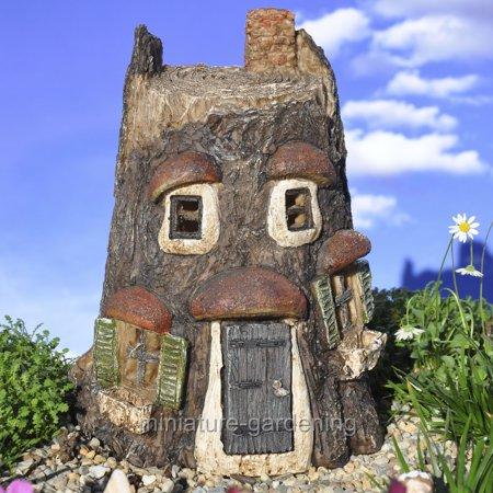 Wholesale Fairy Gardens Owl Fairy House for Miniature Garden, Fairy - Miniature Owl