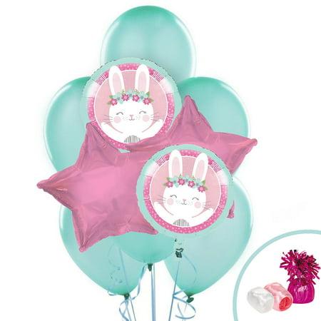 Bunny Birthday (1st Birthday Bunny Balloon)