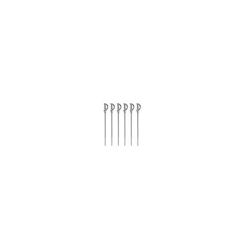 Prodyne Miniature Sword Martini Picks (Set of 6), Metallic by Prodyne