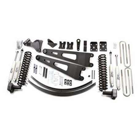 ZONF1308 2011 Ford F250-350 4 in. Suspension Lift Rear with