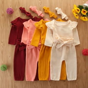Newborn Infant Baby Boy Girl Christmas Gifts Romper Jumpsuit Bodysuit Clothes Playsuit Clothes Outfit Sets