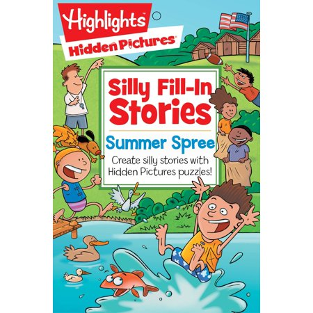 Summer Spree : Create silly stories with Hidden Pictures® puzzles! for $<!---->