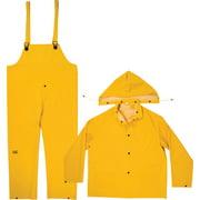 CLC R101M Rain Suit, M, PVC, Yellow