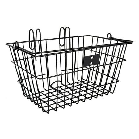 Sunlite Lift-Off Front Bike Basket Black ()