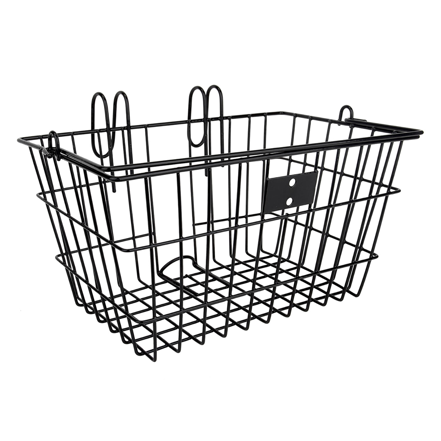 Sunlite Lift-Off Front Bike Basket Black
