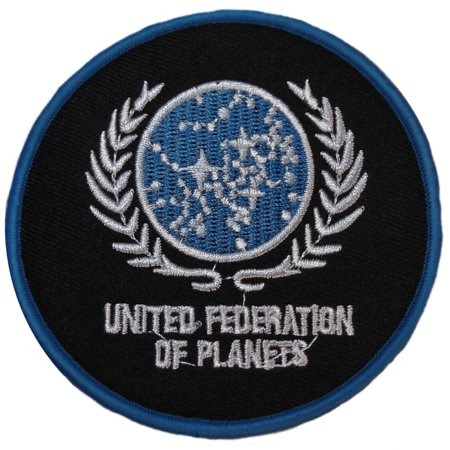 Star Trek TNG United Federation of Planets Logo Patch