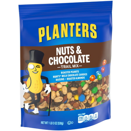 Planters Nuts and Chocolate Trail Mix, 19 oz Bag