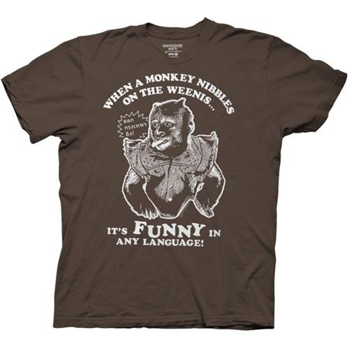 The Hangover 2 When A Monkey Nibbles... T-Shirt