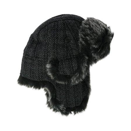 Jeanne Simmons  Winter Tweed Trapper Hat (Men's) Classic Tweed Hat