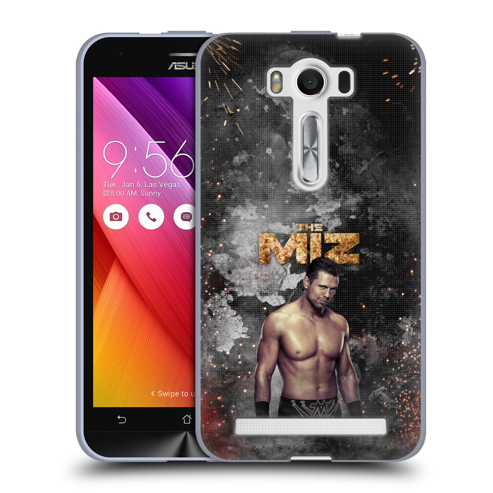 OFFICIAL WWE THE MIZ SOFT GEL CASE FOR ASUS ZENFONE PHONES