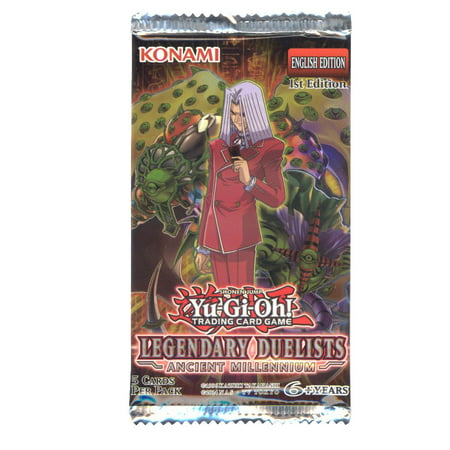 Yu-Gi-Oh Cards - Legendary Duelists: Ancient Millennium - Booster Pack (5