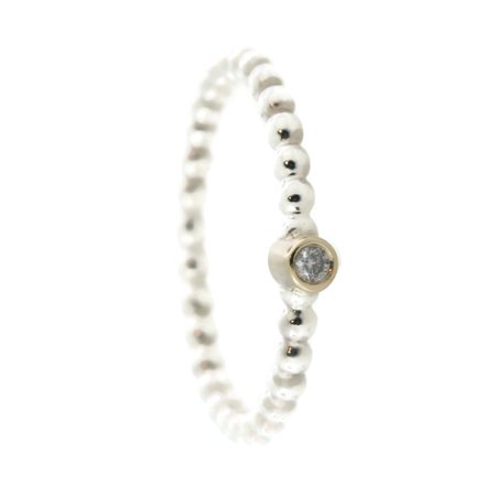 27e6873b9 PANDORA - Authentic Evening Star Stackable Ring, Diamond 190214D-56 -  Walmart.com