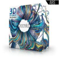 MYNT3D SuperPack ABS 3D Pen Filament Refills, 32 Colors, 10m Each, Over 1kg