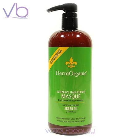 DermOrganic Intensive Hair Repair Masque, 33.8oz Intensive Hair Repair