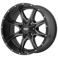 "Moto Metal MO970 17x9 6x135/6x5.5"" -12mm Black/Milled Wheel Rim 17"" Inch"