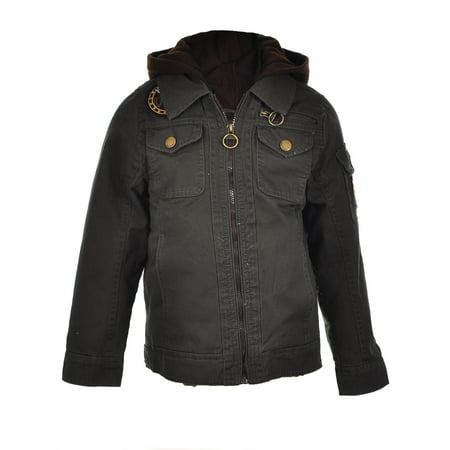 Urban Republic Boys' Hooded Jacket