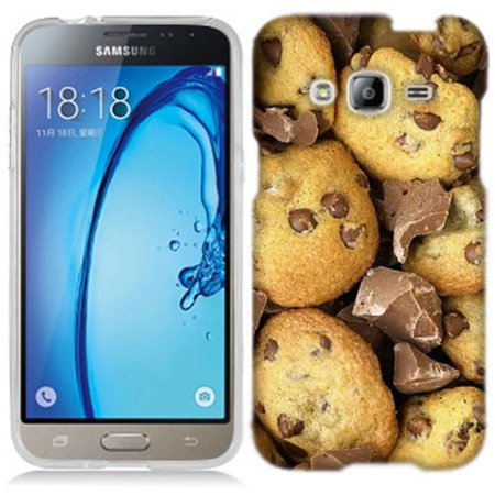 Mundaze Chocolate Chip Cookies Phone Case Cover for Samsung Galaxy Core Prime Prevail LTE