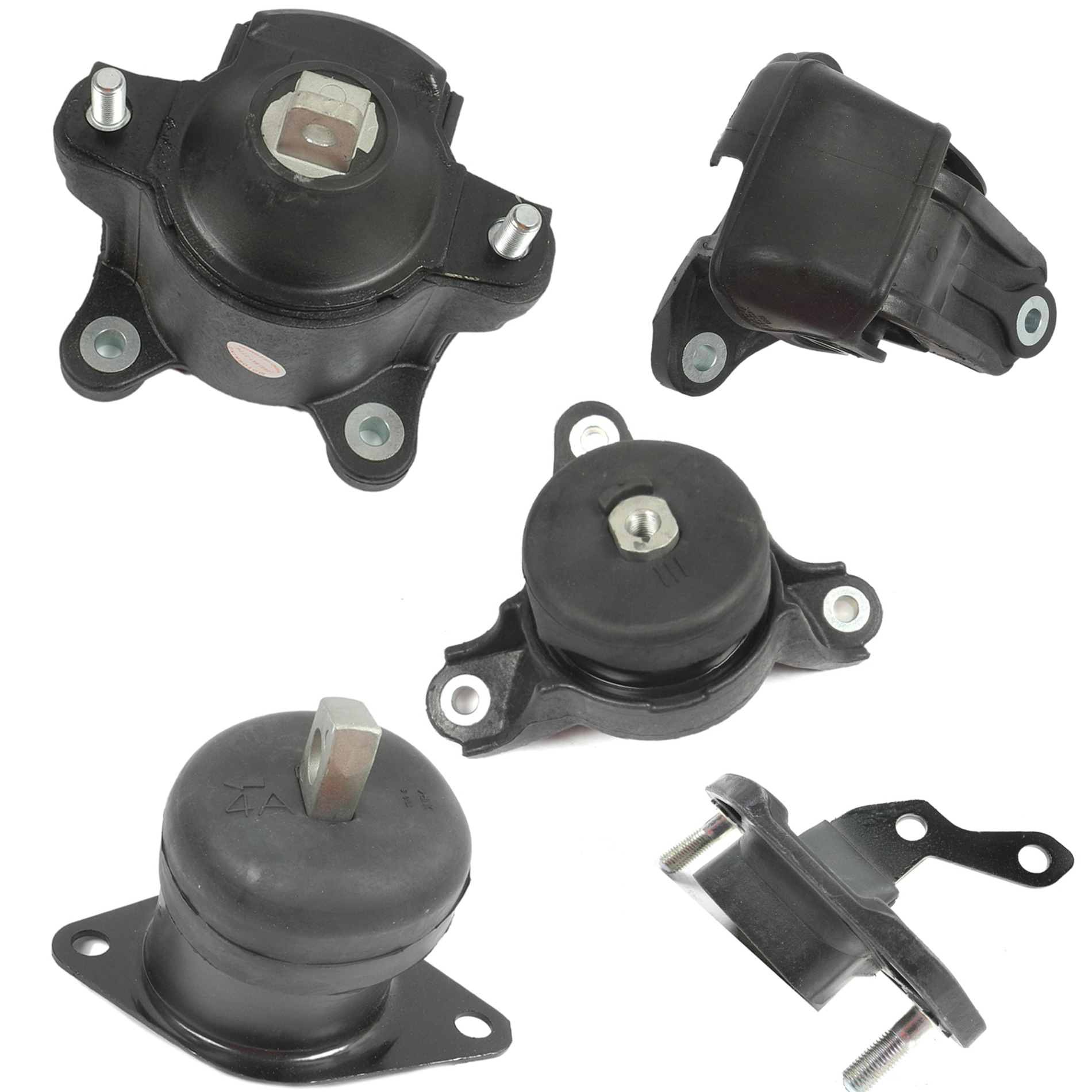 Engine /& Trans Mount 5PCS For Acura TSX Honda Accord Crosstour 2.4L