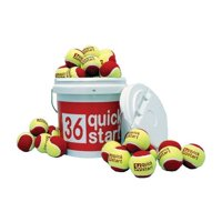 Quick Start 36 Bucket with 30 Tennis Balls