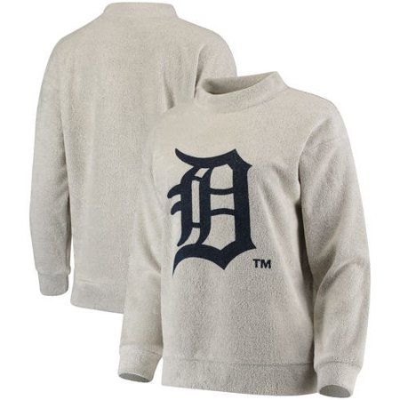 official photos 65fd7 259ca Detroit Tigers Women's Big Logo Crew Neck Pullover Sweater ...