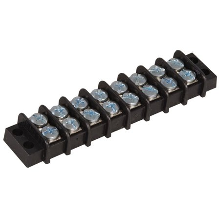 38770-0108 Connector Barrier Strip Terminal Block, Screw Straight Panel Mount, 8 Position, 11.2 mm D x 22.4 mm H x 92.8 mm L (Pack of 2), By Molex From USA