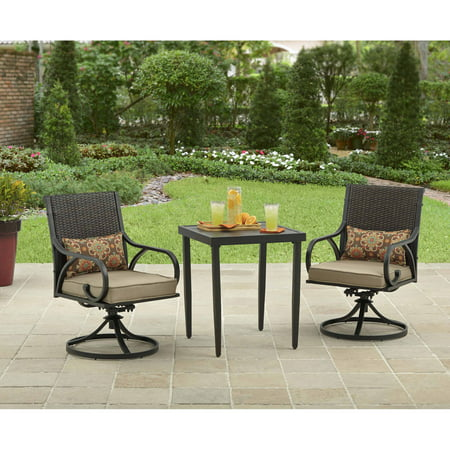Better Homes And Gardens Piper Ridge 3 Piece Outdoor Bistro Set