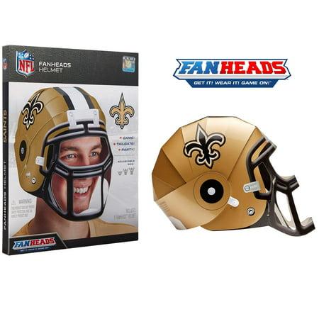 New Orleans Saints Fan Heads Helmet - No Size