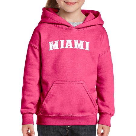 Florida Miami Unisex Hoodie For Girls and Boys Youth Sweatshirt