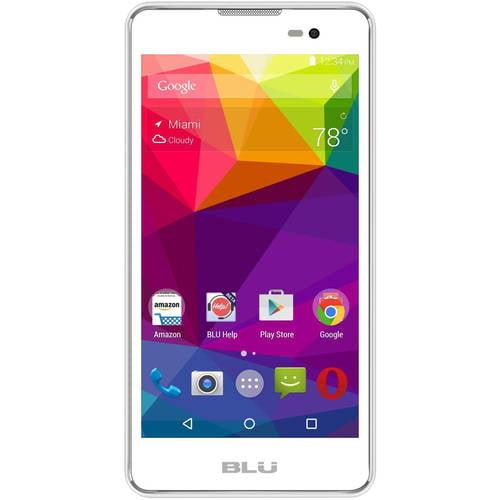 BLU Dash M D030U GSM Dual-SIM Android Quad-Core Smartphone (Unlocked)