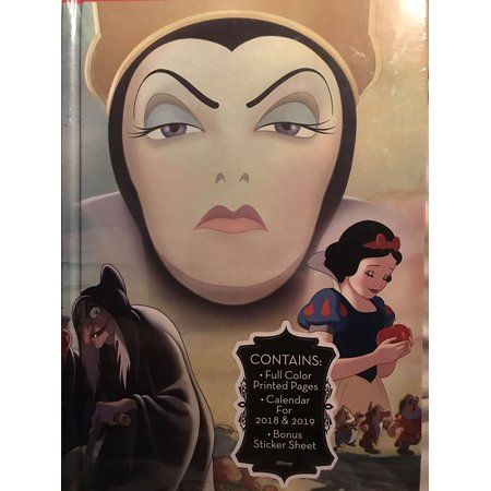 Disney Villains Snow White Journal Calendar 2018 - 2019, Disney Villains Evil Queen Journal Calendar 2018 - 2019 By Evil Queen Ship from - Disney Villain Snow White