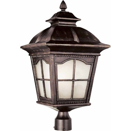 Belair Lighting Energy Saver Bostonian 25  Post Top Lantern  Rust