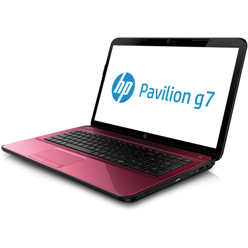 "HP Refurbished Bright Purple 17.3"" Pavilion G7-2298NR Laptop PC with AMD A6-4400M Processor, 8GB Memory, 1TB Hard Drive and Windows 8"
