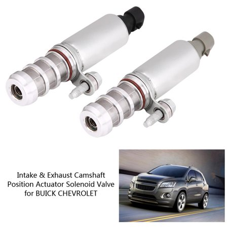 - Tbest Intake & Exhaust Camshaft Position Actuator Solenoid Valve for GMC BUICK CHEVROLET 12655420, Solenoid Valve for BUICK, 12628348