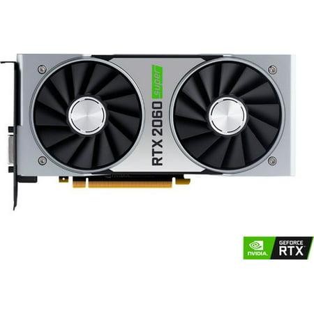 NVIDIA - GeForce RTX 2060 SUPER 8GB GDDR6 PCI Express Graphics Card - (Nvidia Geforce 8,800 Meter Gts)
