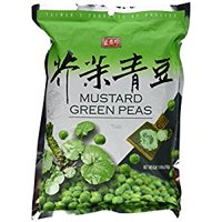 Taiwan Roasted Wasabi Hot Green Peas (30 Packets) - 8.46 Oz (240 g) - No Starch  No Wheat Flour