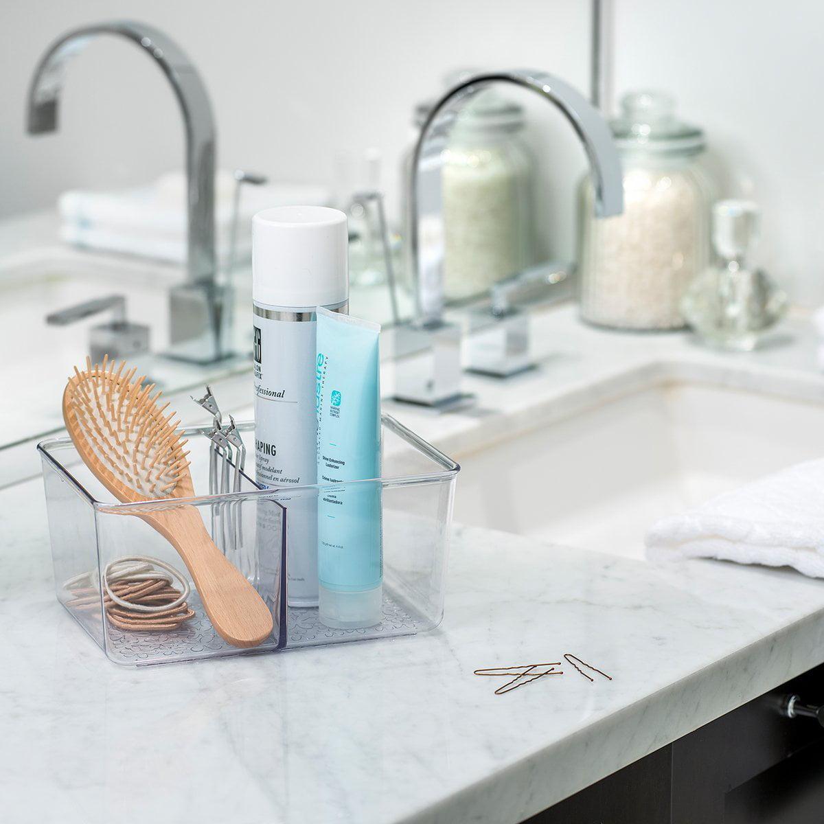 Set Of 2 Vanity Trays Bathroom Storage Organizers Basket For Dresser  Perfume Bin - Walmart