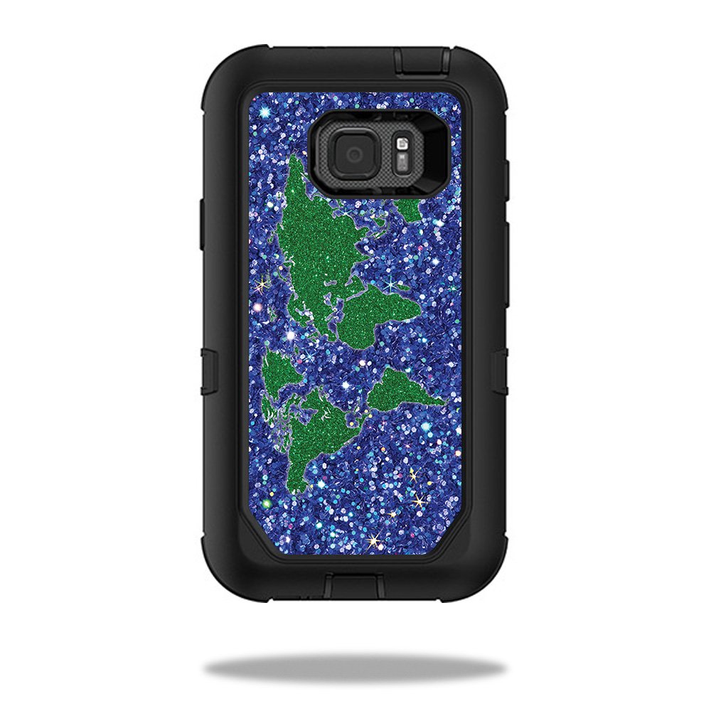 Skin for otterbox commuter iphone 7 case bling world mightyskins protective durable