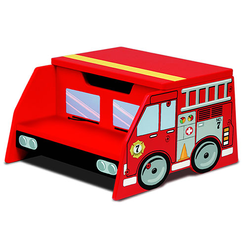 KidKraft - Fire Truck Step Stool