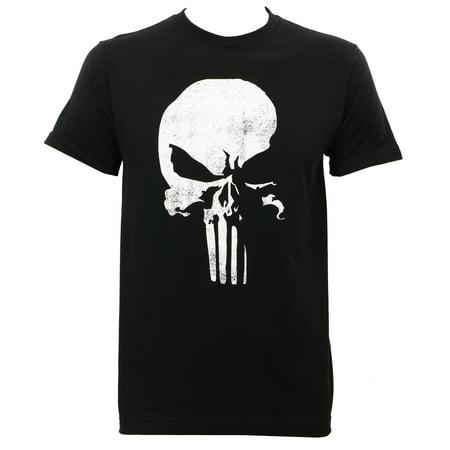 Daredevil Punisher Logo Slim Fit T-Shirt Black](Daredevil T Shirt)