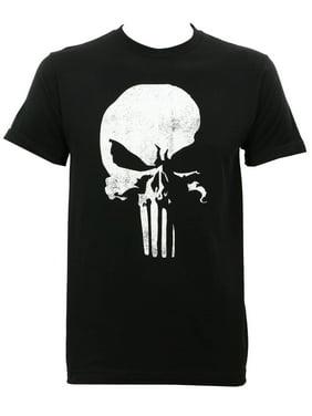 7997b3ea Product Image Daredevil Punisher Logo Slim Fit T-Shirt Black